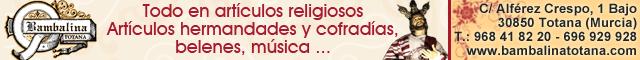 Artículos religiosos Totana : Bambalina Artículos Religiosos