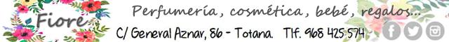 Totana : Fiore Perfumería