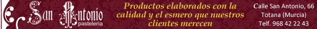Totana : Pastelería San Antonio