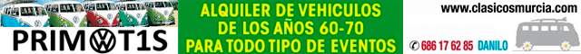 Alquiler de vehículos Totana : Primot1s - Alquiler de vehículos clásicos
