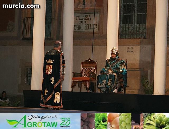Entrega de llaves de la ciudad de Murcia al Infante Alfonso X el Sabio - 2009 - 42