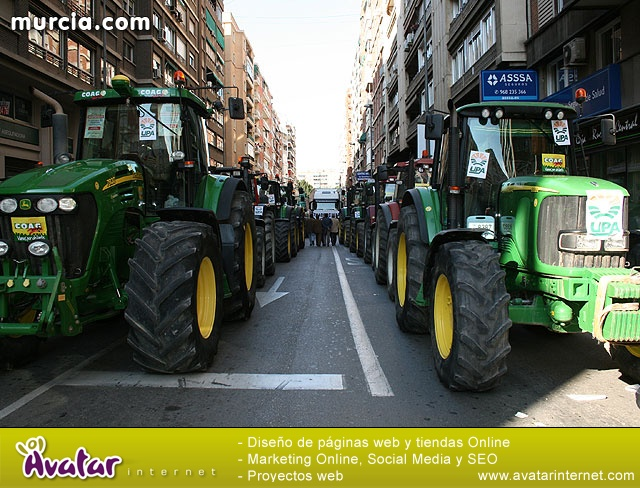 Cientos de miles de personas se manifiestan en Murcia a favor del trasvase - 4