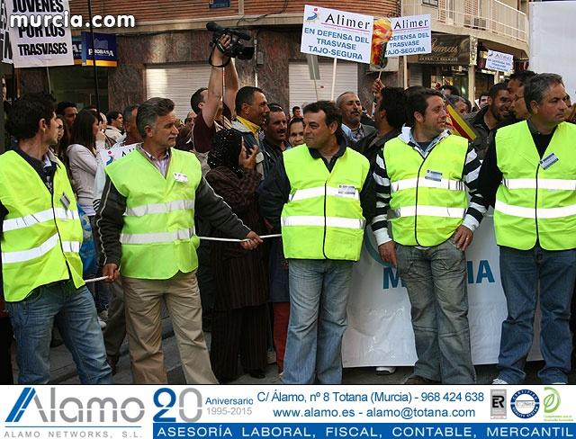 Cientos de miles de personas se manifiestan en Murcia a favor del trasvase - 16