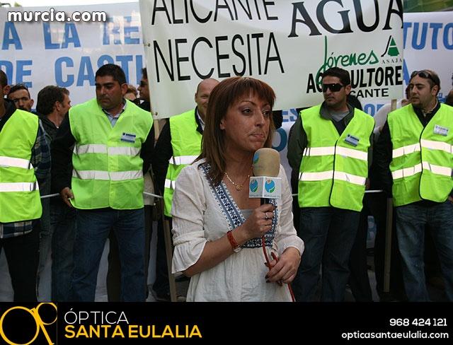 Cientos de miles de personas se manifiestan en Murcia a favor del trasvase - 20