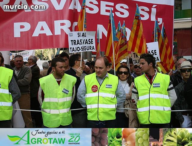 Cientos de miles de personas se manifiestan en Murcia a favor del trasvase - 26