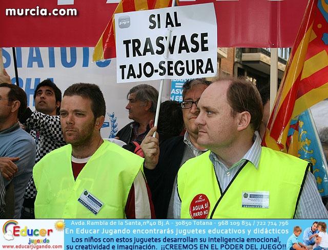 Cientos de miles de personas se manifiestan en Murcia a favor del trasvase - 30