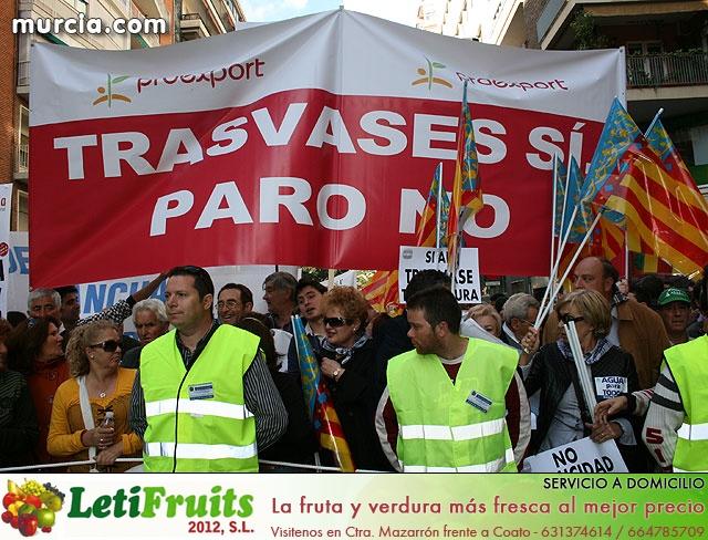 Cientos de miles de personas se manifiestan en Murcia a favor del trasvase - 33