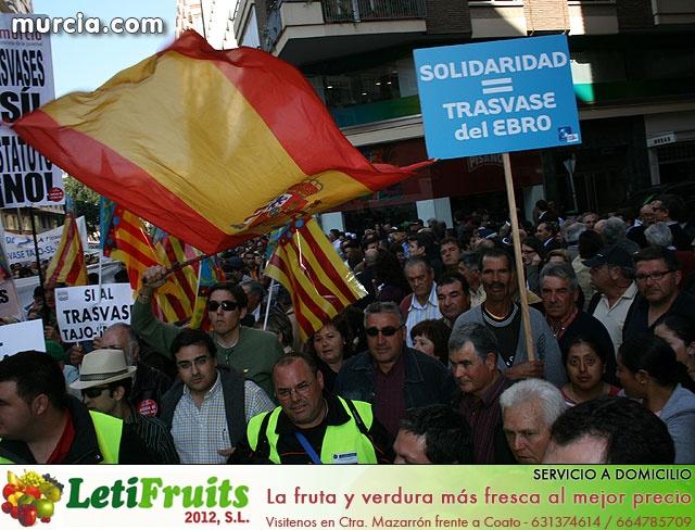 Cientos de miles de personas se manifiestan en Murcia a favor del trasvase - 35