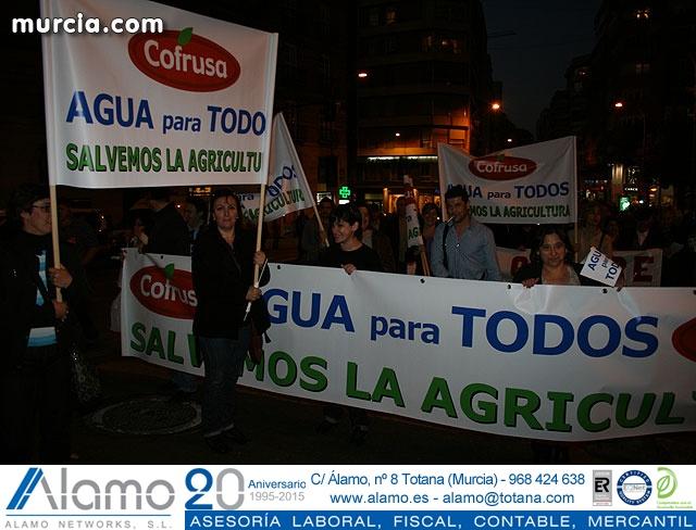 Cientos de miles de personas se manifiestan en Murcia a favor del trasvase - 317