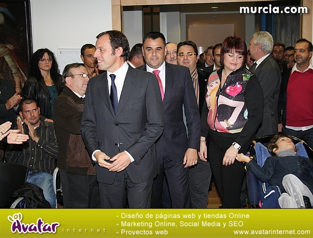 Sandro Rosell en Totana - 18