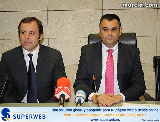 Sandro Rosell en Totana - 23