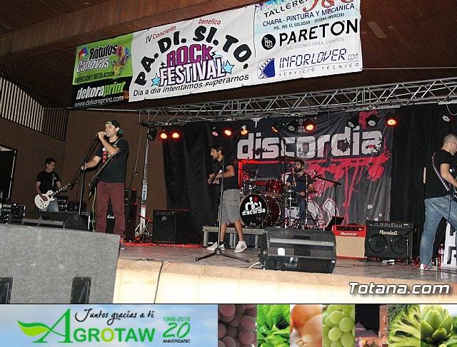IV concierto de rock a beneficio de PADISITO - 7