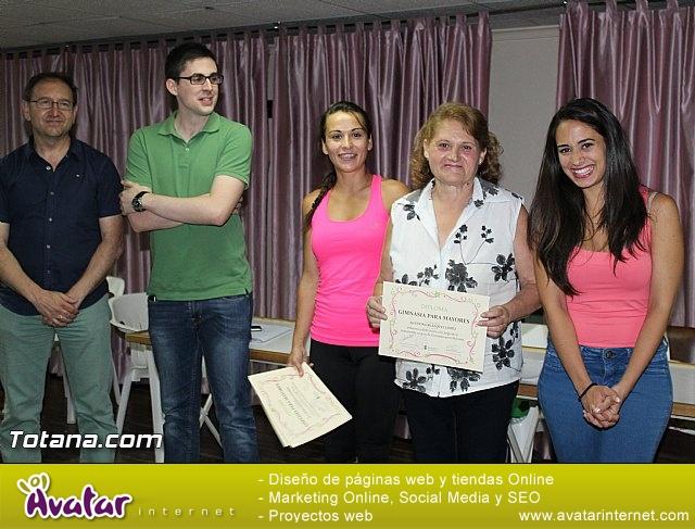 Clausura y entrega de diplomas del Programa de Gimnasia para Personas Mayores - 2015 - 23