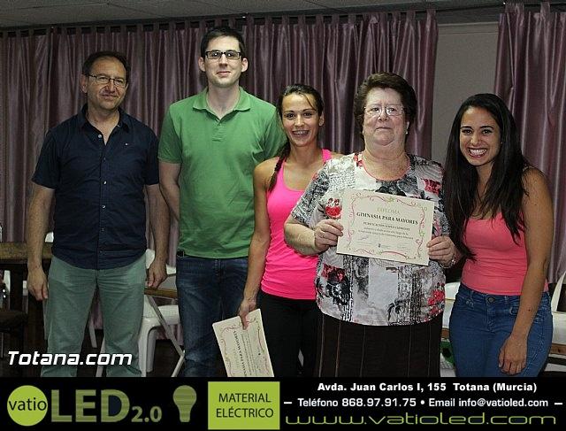 Clausura y entrega de diplomas del Programa de Gimnasia para Personas Mayores - 2015 - 27