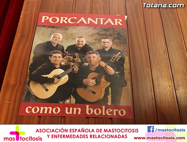 Presentación CD ´Como un Bolero´ - PORCANTAR - 1