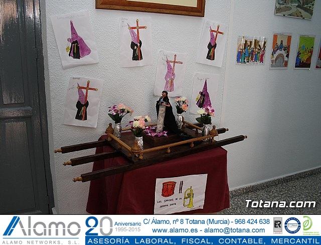 Así ven los alumnos del colegio Santa Eulalia la Semana Santa 2012 - 2