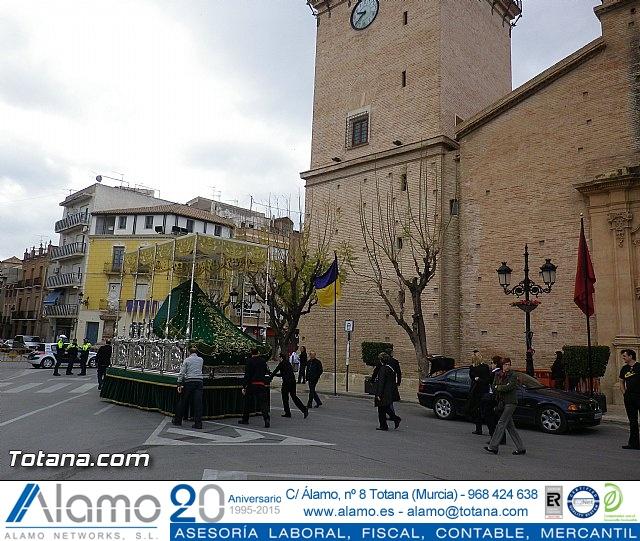 Entrega de la bandera a Los Armaos. Totana 2012 - 2