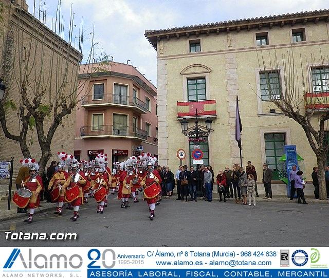 Entrega de la bandera a Los Armaos. Totana 2012 - 8