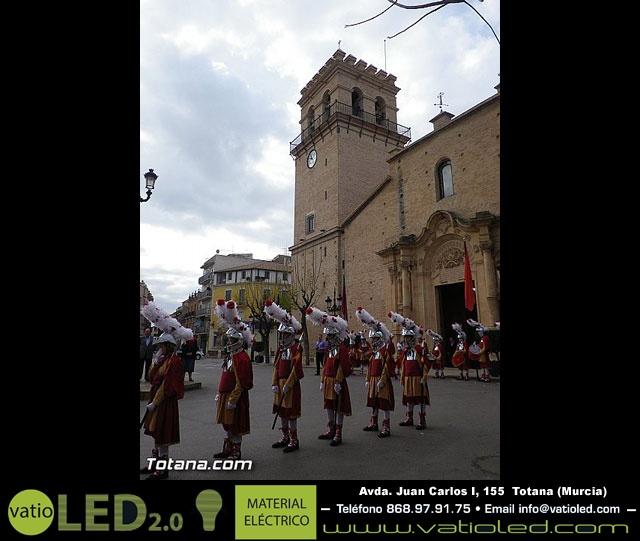 Entrega de la bandera a Los Armaos. Totana 2012 - 24