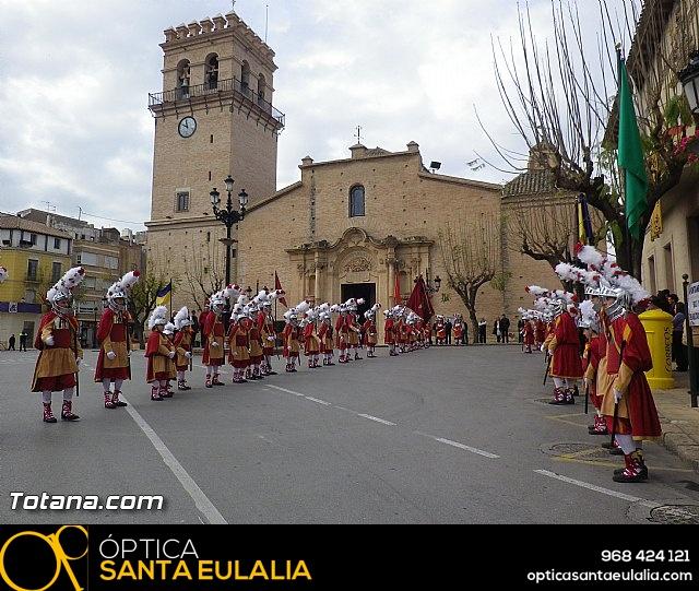 Entrega de la bandera a Los Armaos. Totana 2012 - 37