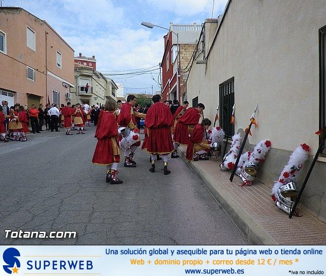 Entrega de la bandera a Los Armaos. Totana 2012 - 185