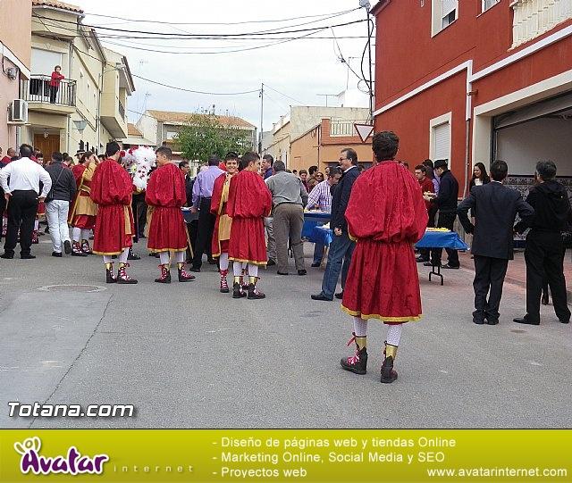 Entrega de la bandera a Los Armaos. Totana 2012 - 186