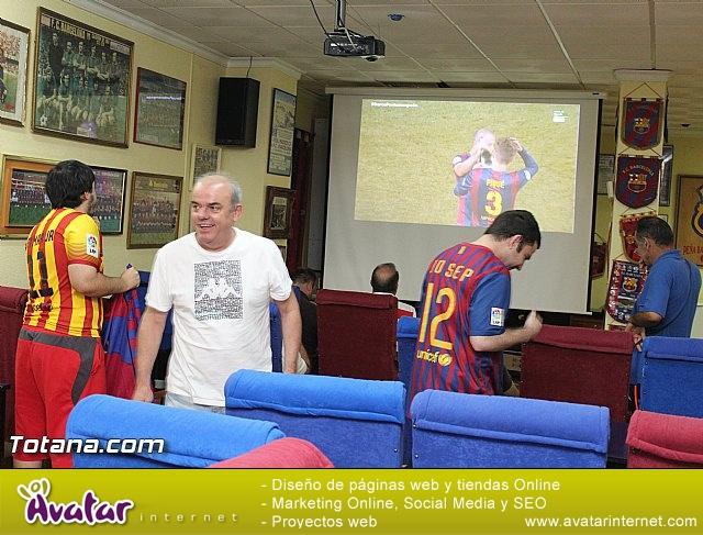 Celebración en Totana de la quinta Champions y segundo triplete del Barça - 2