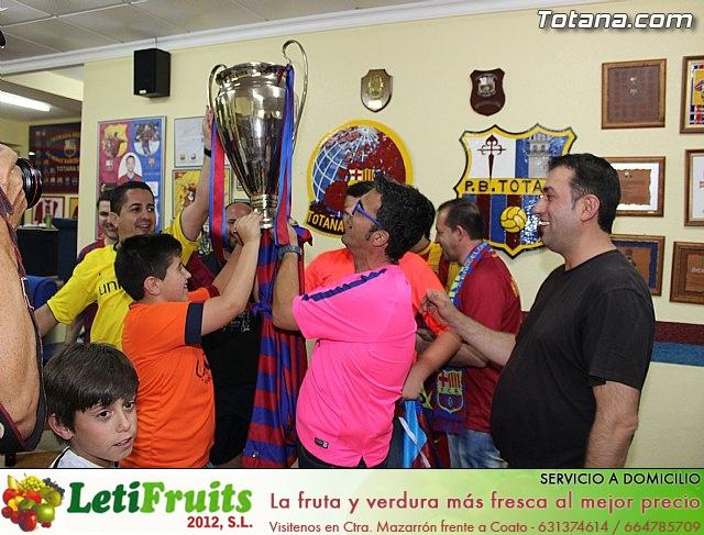 Celebración en Totana de la quinta Champions y segundo triplete del Barça - 3