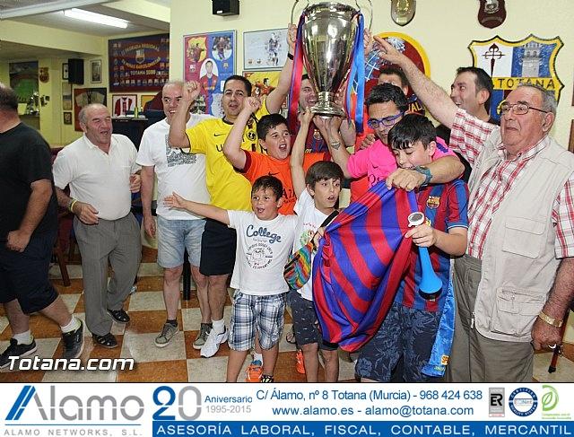 Celebración en Totana de la quinta Champions y segundo triplete del Barça - 5