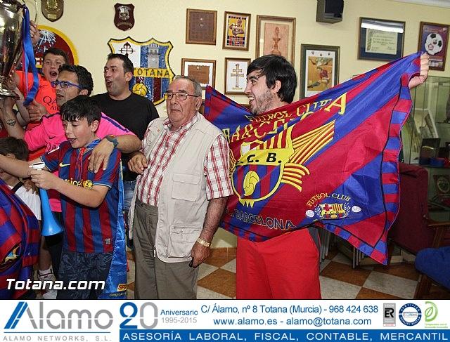 Celebración en Totana de la quinta Champions y segundo triplete del Barça - 6