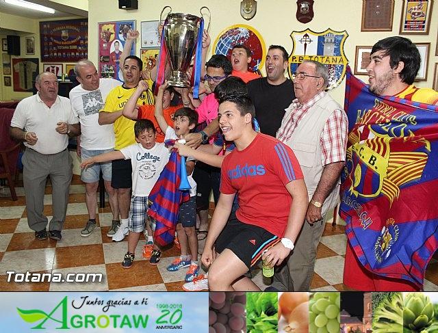 Celebración en Totana de la quinta Champions y segundo triplete del Barça - 7