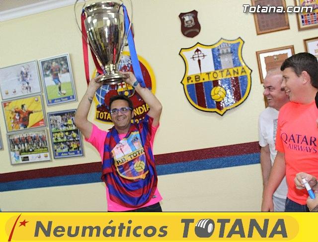 Celebración en Totana de la quinta Champions y segundo triplete del Barça - 12