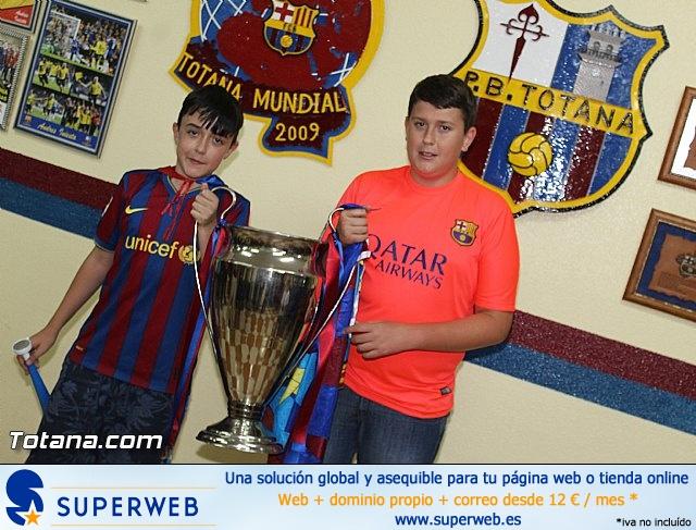 Celebración en Totana de la quinta Champions y segundo triplete del Barça - 13