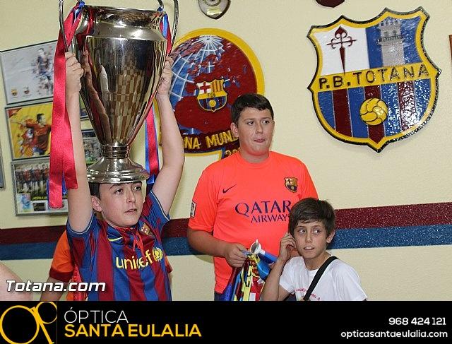 Celebración en Totana de la quinta Champions y segundo triplete del Barça - 14