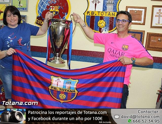 Celebración en Totana de la quinta Champions y segundo triplete del Barça - 16