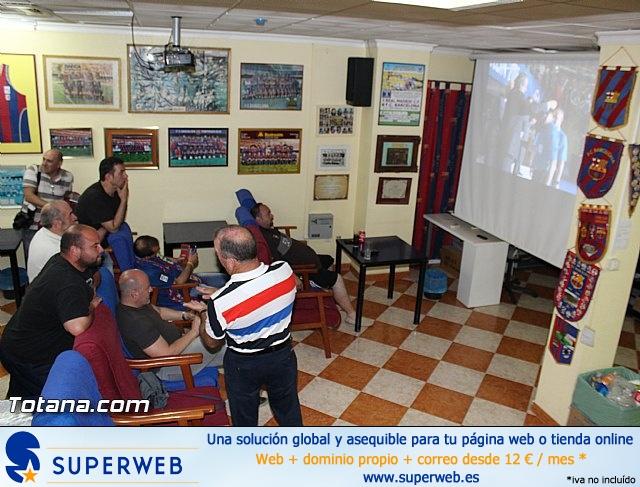 Celebración en Totana de la quinta Champions y segundo triplete del Barça - 17