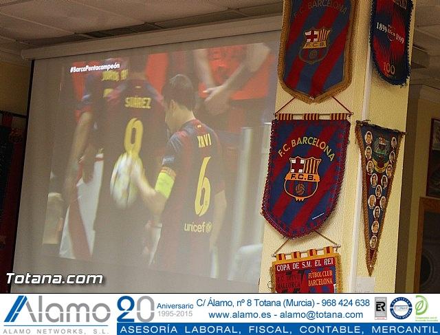 Celebración en Totana de la quinta Champions y segundo triplete del Barça - 19