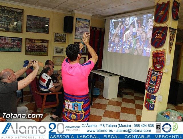 Celebración en Totana de la quinta Champions y segundo triplete del Barça - 21