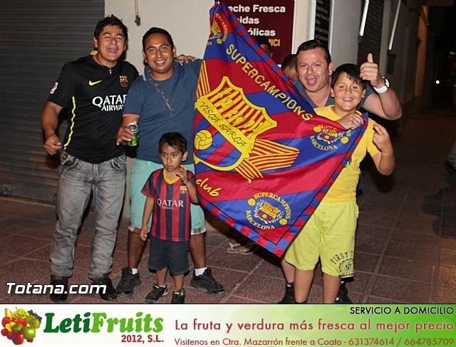 Celebración en Totana de la quinta Champions y segundo triplete del Barça - 24