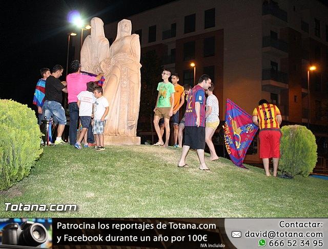 Celebración en Totana de la quinta Champions y segundo triplete del Barça - 25