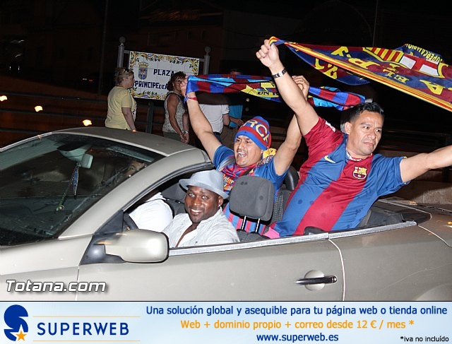 Celebración en Totana de la quinta Champions y segundo triplete del Barça - 30