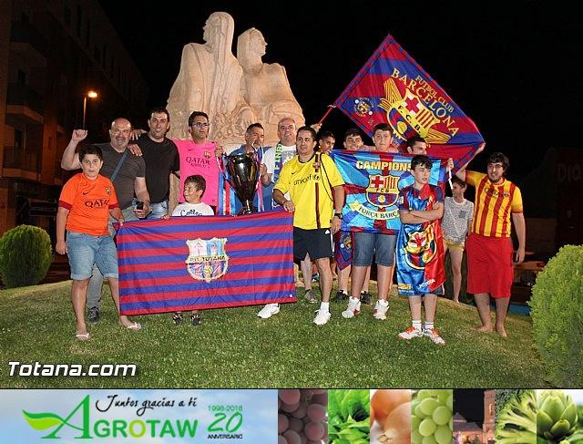 Celebración en Totana de la quinta Champions y segundo triplete del Barça - 31