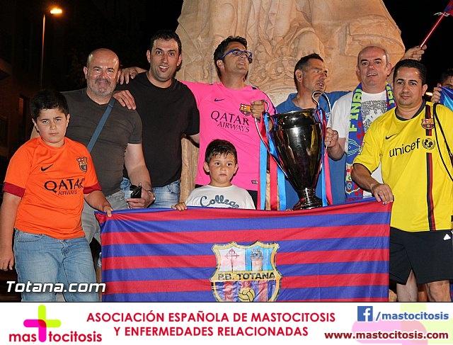 Celebración en Totana de la quinta Champions y segundo triplete del Barça - 32