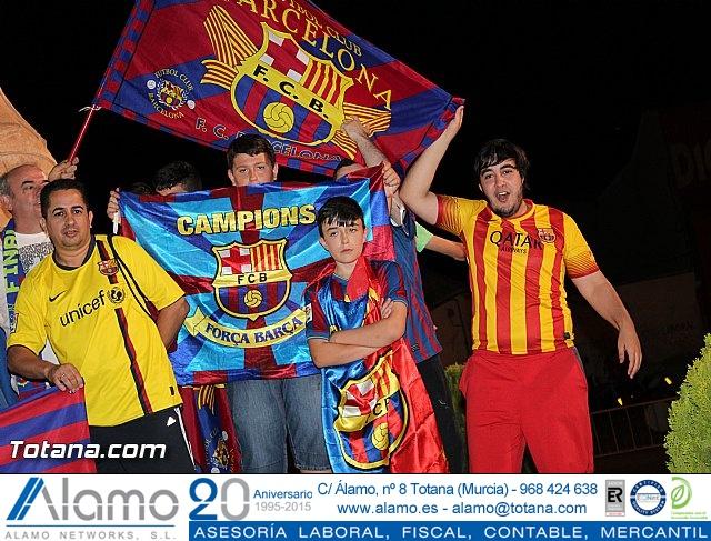 Celebración en Totana de la quinta Champions y segundo triplete del Barça - 33
