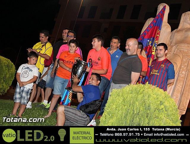 Celebración en Totana de la quinta Champions y segundo triplete del Barça - 35