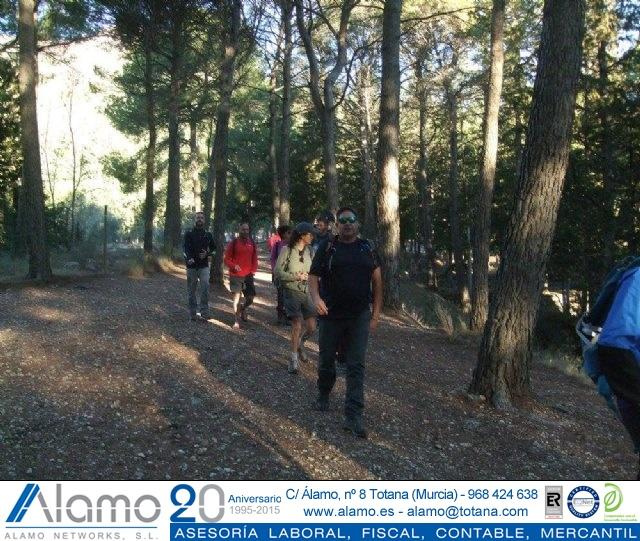Sendero del Berro - Club Senderista de Totana - 23/10/2016 - 13