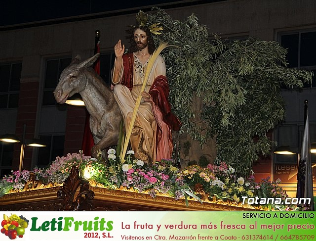 Traslado burrica - Semana Santa 2019 - 21