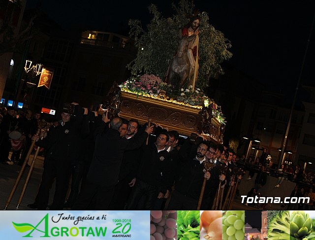 Traslado burrica - Semana Santa 2019 - 30