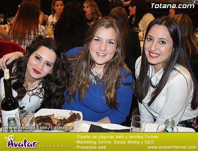 Cena Carnaval 2014 - Proclamación de La Musa y Don Carnal 2014 - 10