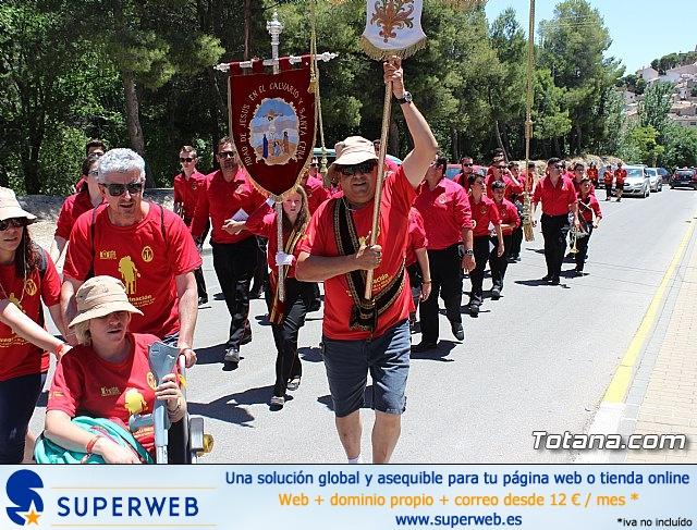 Peregrinación de la Hdad. de Jesús en el Calvario a Caravaca - 724